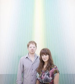 Brea and James McAnally of the Luminary Center of the Arts - PHOTO BY JENNIFER SILVERBERG