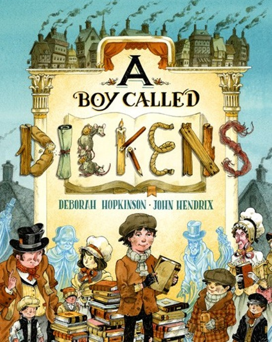 The cover of A Boy Called Dickens.