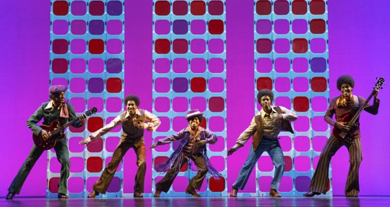 Motown: The Musical brings you the Jackson 5...and lots more. - JOAN MARCUS