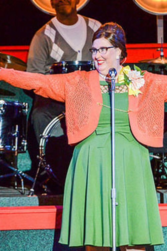 Phyllis Smith as Miss Lynch. - PHILLIP HAMER