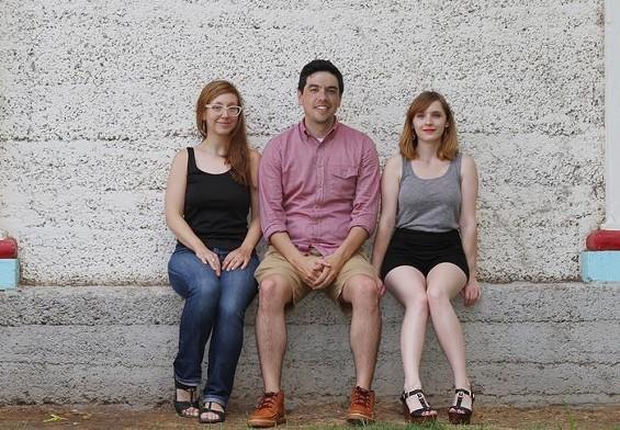 Cassandra Howard, Gardiner Rhoderick and Katy Peace. - VIA CSA STL