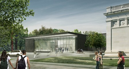 A rendering of the 200,000 square-foot addition to be attached to the rear of the Saint Louis Art Museum. - SLAM.ORG