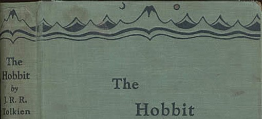 Cover of the 1937 first-edition of The Hobbit. Patricia Gray's stage adaptation is being performed this weekend. - IMAGE VIA