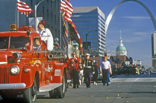 Veterans Day is November 11, but the parade rolls through downtown at noon on Saturday.