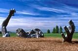 "At seventy feet long, ""The Awakening"" is Seward Johnson's largest sculpture. - WIKIMEDIA COMMONS"