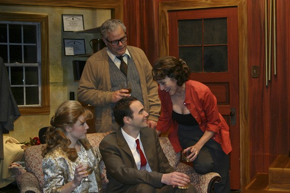 A night of cocktailing turns ugly in Virginia Woolf. - JOHN LAMB