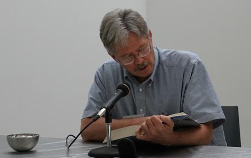 Walter Bargen, Missouri's first Poet Laureate