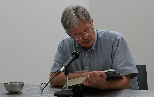 Walter Bargen, Missouri's first Poet Laureate