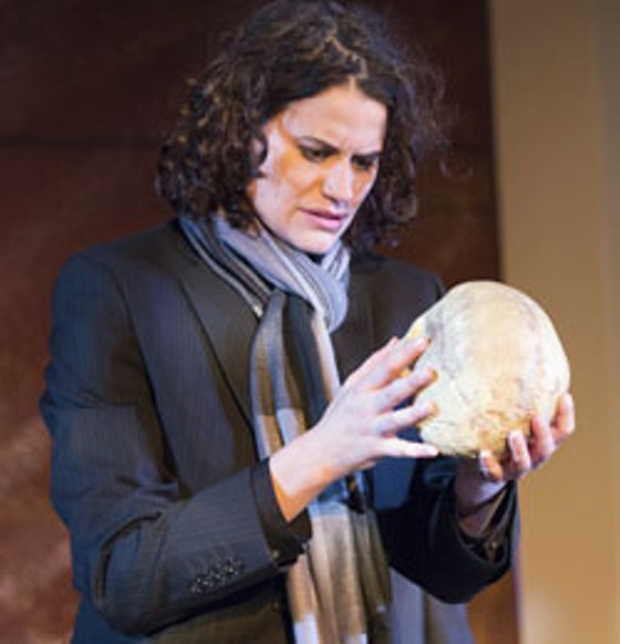 Maggie Winninger in the title role of SLS's most recent Hamlet. - KIM CARLSON