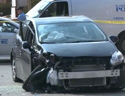 Aftermath of the crash yesterday. - VIA KSDK.COM. VIDEO BELOW.