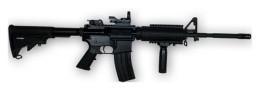 Rashidi Greer has been charged with firing an assault rifle at his ex-gf - IMAGE VIA