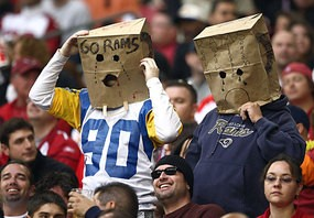 Aw, c'mon guys. It was just one game. No need to break out the bags just yet.