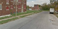 3900 block of Garrison Avenue, where Daniel Felton's body was found.