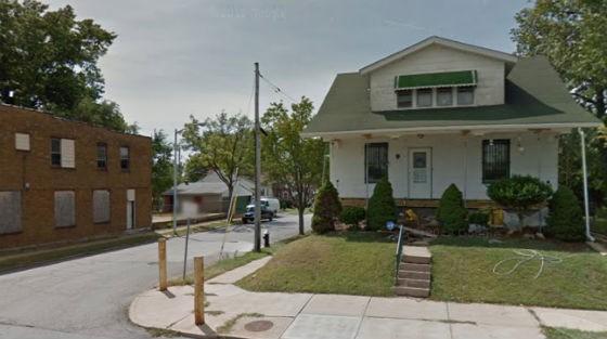 Neighborhood where the alleged rape took place. - GOOGLE MAPS