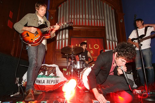 Crocodiles perform on Saturday night at the Halo Bar. See more photos here. - PHOTO: NICK SCHNELLE