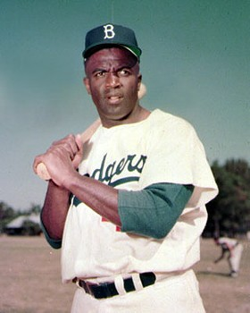"""Jackie Robinson: """"Love is something that no one can control."""""""