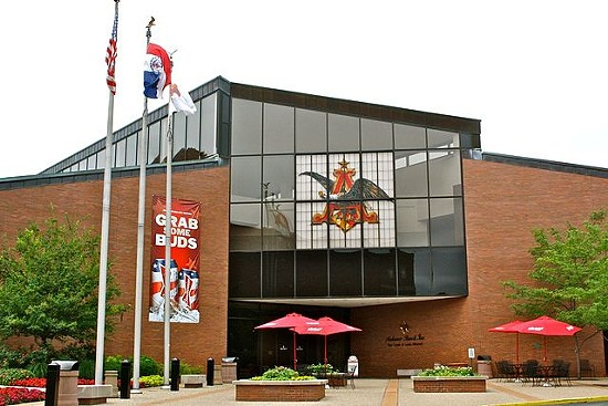 Anheuser-Busch brewery. - VIA WIKIMEDIA COMMONS