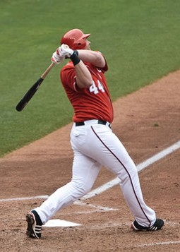 Adam Dunn doing what he does best. Unfortunately, there's a bunch of other stuff he doesn't do so well that we would sort of need him to do. - COMMONS.WIKIMEDIA.ORG