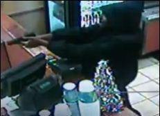 This guy robbed the Subway at South Grand and Shenandoah on Saturday