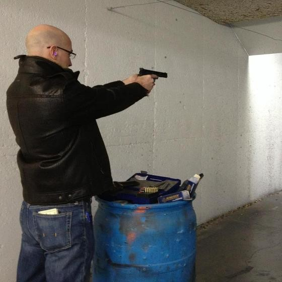 Representative Casey Guernsey, who proposed state legislation against federal gun control. - VIA FACEBOOK