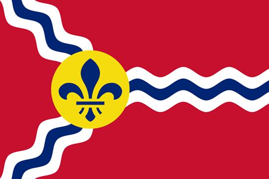 The St. Louis city flag.