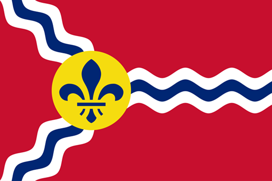 The St. Louis city flag.