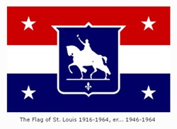 The 1916 flag design approved in 1946. - DISTILLED HISTORY