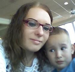 Carla and her son, Mauricio. - VIA FACEBOOK