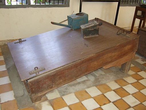 Will Charlie Brennan go to Vietnam to use one of these old-school water-boards for his torture session? Or will he find a local sponsor? - WIKIMEDIA COMMONS