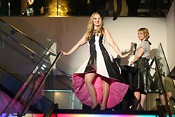 Would you ever guess that dress is made from trash bags and duct tape? - SALVATION ARMY