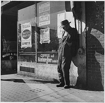 DOROTHEA LANGE, COURTESY OF THE FRANKLIN D. ROOSEVELT PRESIDENTIAL LIBRARY AND MUSEUM