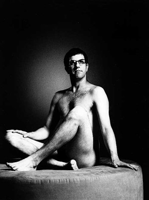 Who has two thumbs and agreed to pose nude for Esquire (as an experiment, of course)? This guy! - COURTESY OF SIMON & SCHUSTER