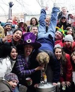 Not all Mardi Gras goers are dirty drunken criminals -- just 83 of them.