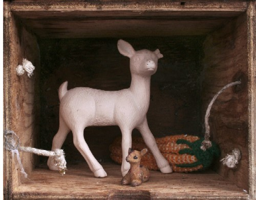 Deer Pair, part of Art Saint Louis' Honors Awards 2011. - CHRISTA DENNEY