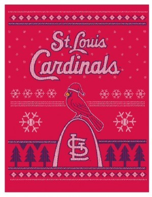 "STL Style's design for the St. Louis Cardinals' ""Christmas in July"" t-shirt promotion - COURTESY OF STL STYLE"