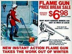 Boston's mayor appealed for M.I.T. engineers to develop flame throwers to help save the city from record snowfall.