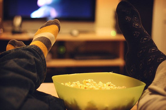 """""""Honey, bring the popcorn! The state-mandated abortion documentary is on!"""" - GINNEROBOT VIA FLICKR"""
