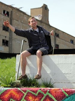 Tom Nagel. (You can get updates on the Cotton Belt mural on its Facebook Page.) - DANNY WICENTOWSKI
