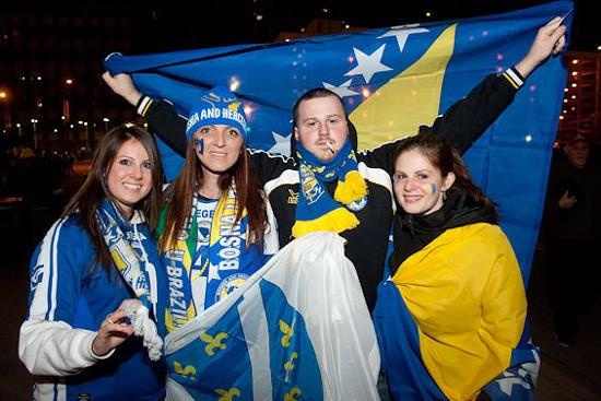 No time for a smoke break! Go Bosnia! SEE ALL PHOTOS