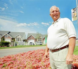 Paul J. McKee, Jr., wants to overhaul the north side; likes flowers - PHOTO BY JENNIFER SILVERBERG