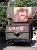 Thou shall love thy Dumpster.