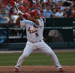 Albert Pujols in 2006. - VIA WIKIMEDIA COMMONS