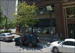 The building at 1204 Washington Avenue where a fight led to a shooting nearby - IMAGE VIA