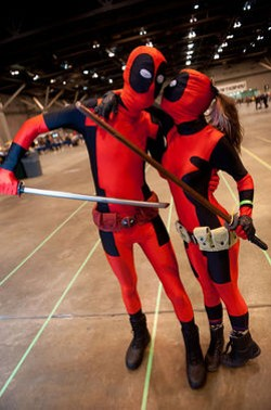 You might see these folks at your local Free Comic Book Day celebration. - JONGITCHOFF