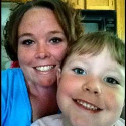 The photo of Rachel Koechner and her daughter that authorities distributed. - VIA