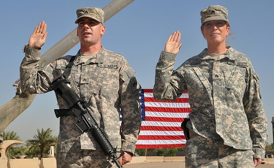 Thank you for your service. Now come move to St. Louis! - DVIDSHUB VIA FLICKR