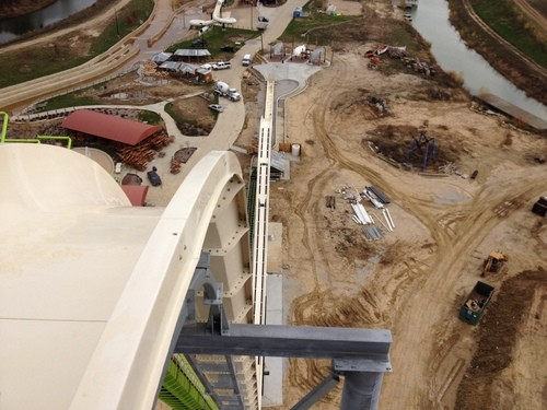 Verruckt, the world's tallest water slide. - SCHLITTERBAHN