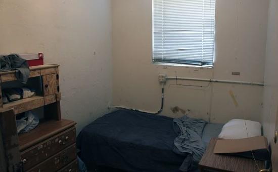 Chaney's new room. - DANNY WICENTOWSKI