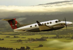 King Air 250 model. - VIA HAWKERBEECHCRAFT.COM