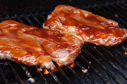Mmmmm, pork steak! - DAVID HERHOLZ VIA FLICKR